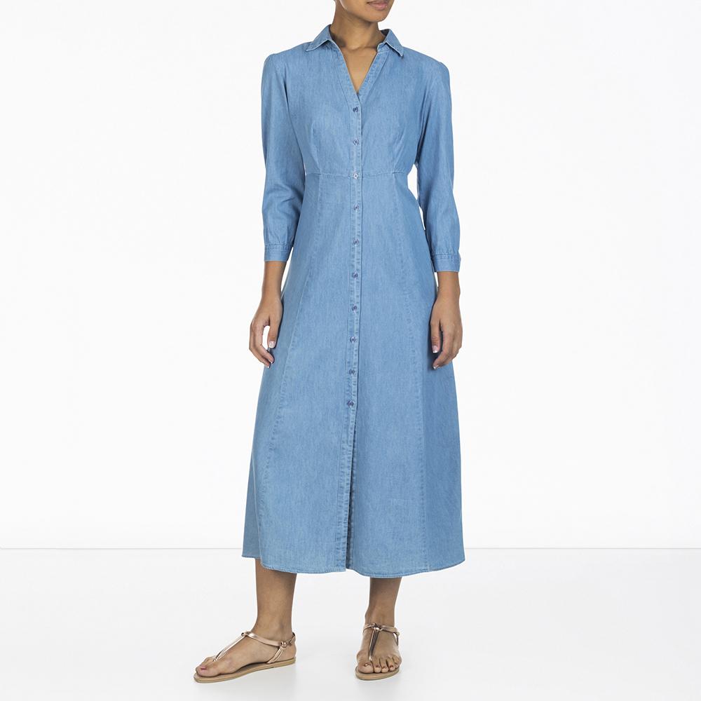 9c8e148070 Women s 3 4 Sleeve Maxi Dress