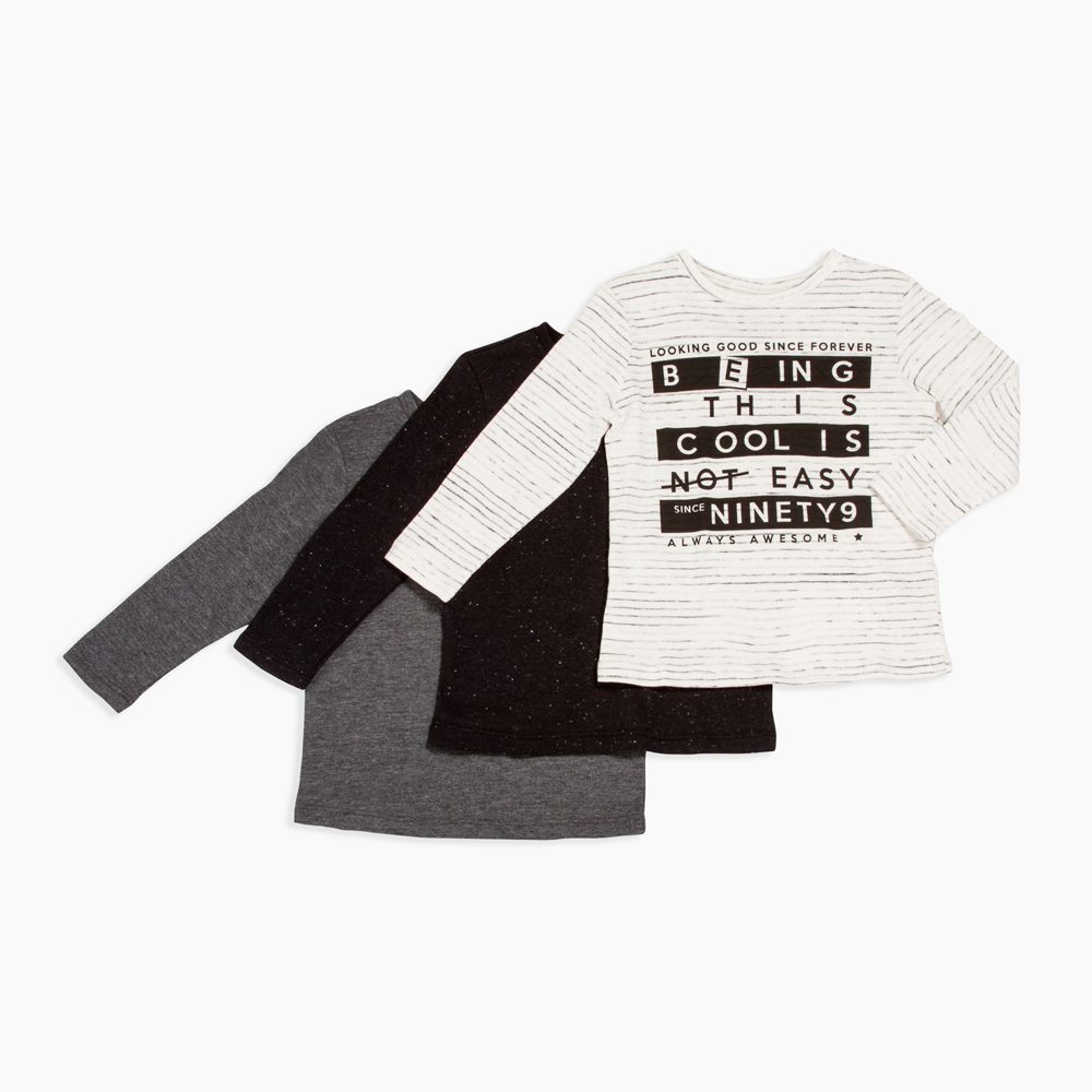 4395390a7 Exact. 030304AACU6. R 180.00. These cool crew neck t-shirts are in a ...