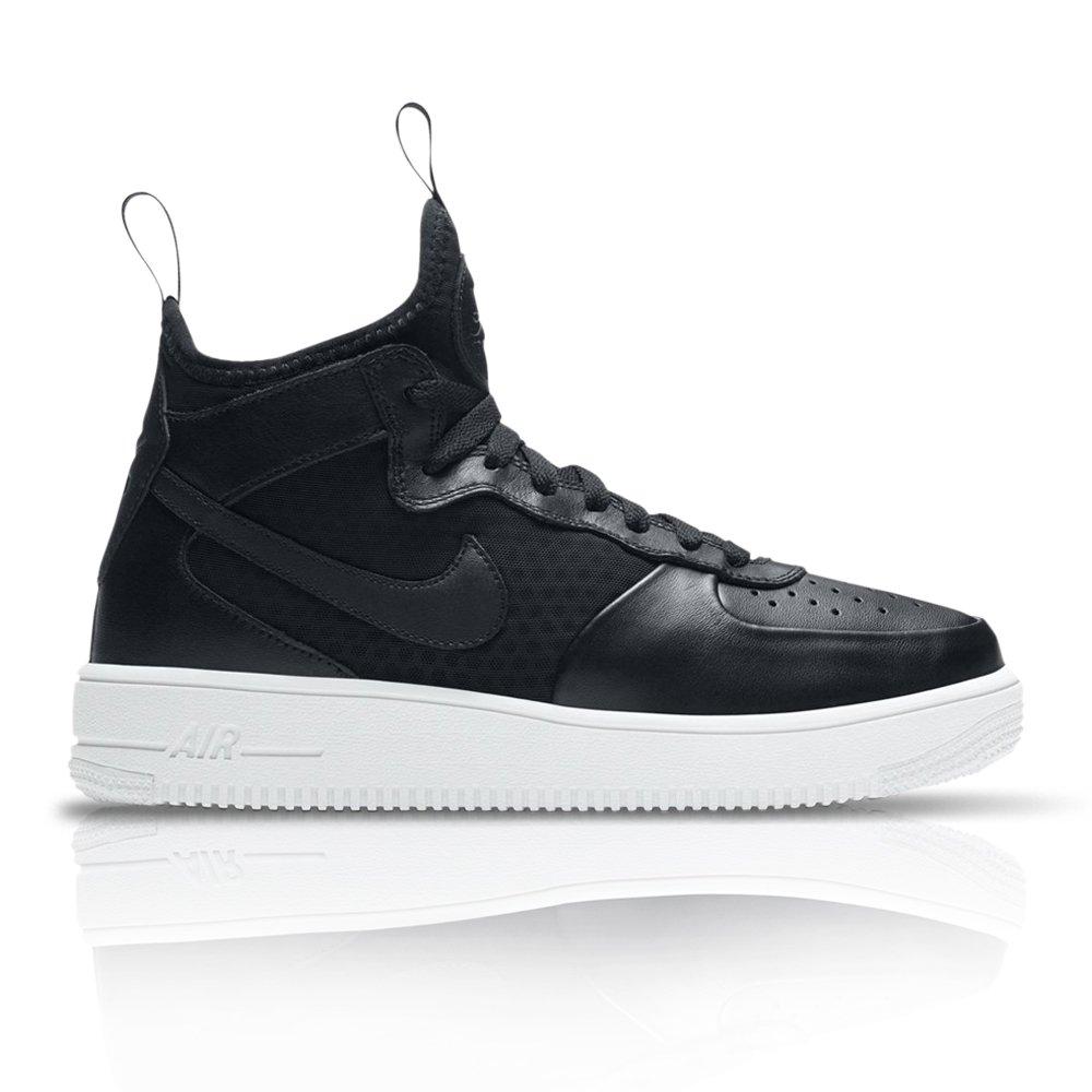 00f73dd94 Nike Women's Air Force 1 Ultraforce Mid White/Grey Sneaker. 061028AADO6