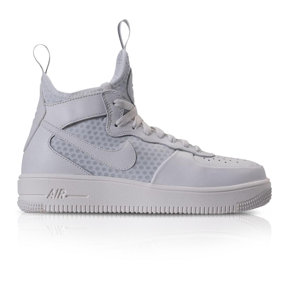 7019a8737 Nike Women's Air Force 1 Ultraforce Mid Black/White Sneaker. 061028AADO7