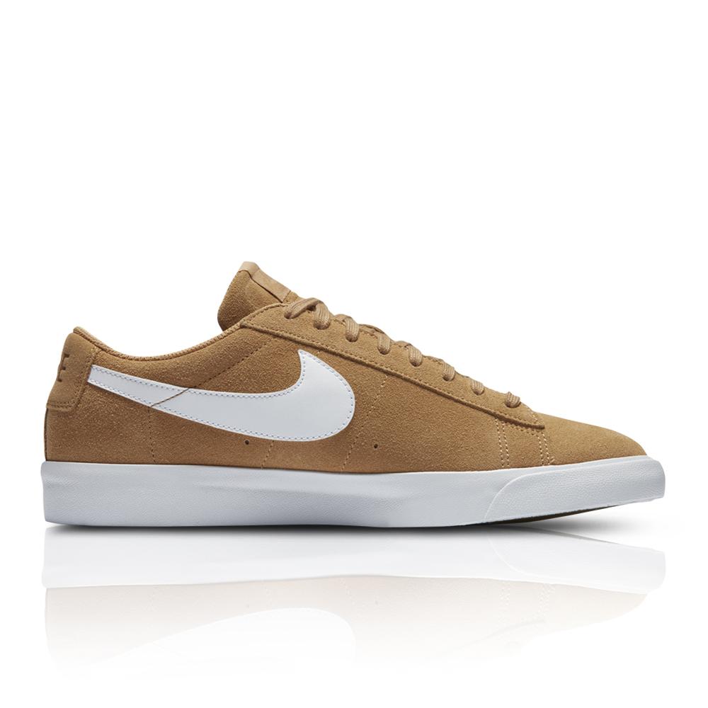 new arrival 485c2 2a26d ... best price nike mens blazer low tan white sneaker. 061017aaiq6 f4b26  21df1