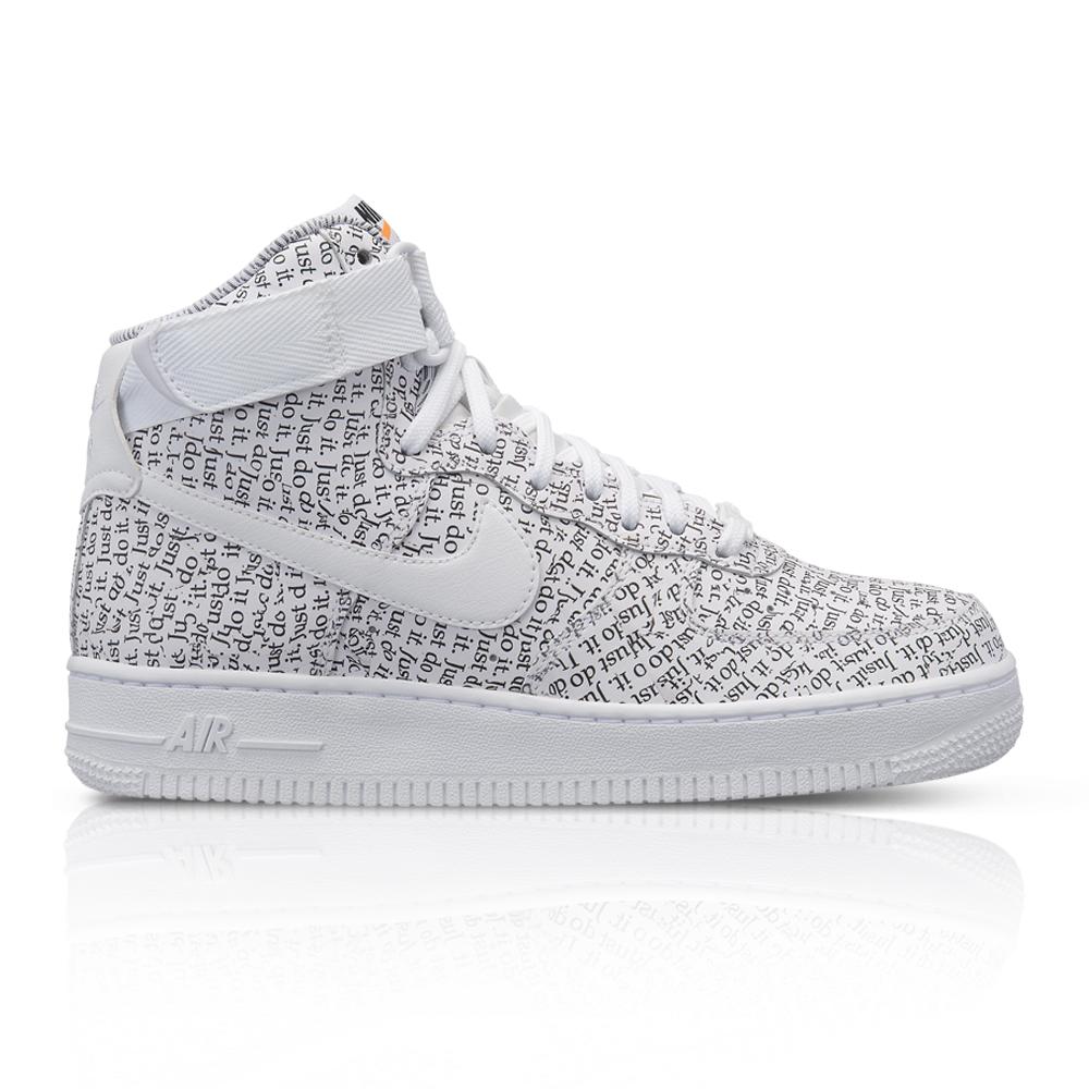 acd78ba616a6 Nike Women s Air Force 1 Hi LX JDI Pack White Sneaker. 061028AAEI6