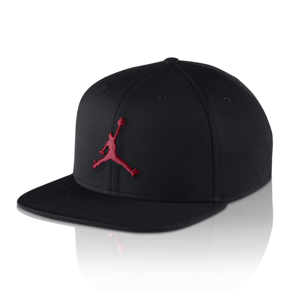 454db43e9195 Jordan Jumpman Snapback Black Red Cap. 061510AAPT6