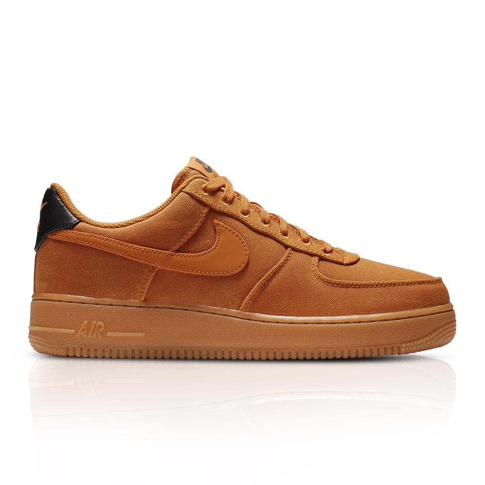 e7ade5e5d876 Nike Men s Air Force 1  07 LV8 Style Orange Sneaker