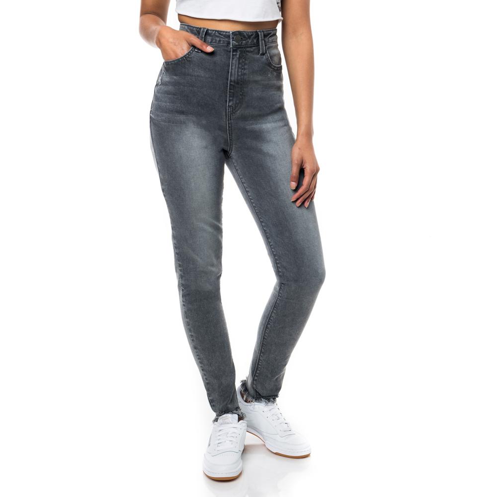96d1135941f Redbat Women's High Rise Super Skinny Grey Jeans. 060601AACX6