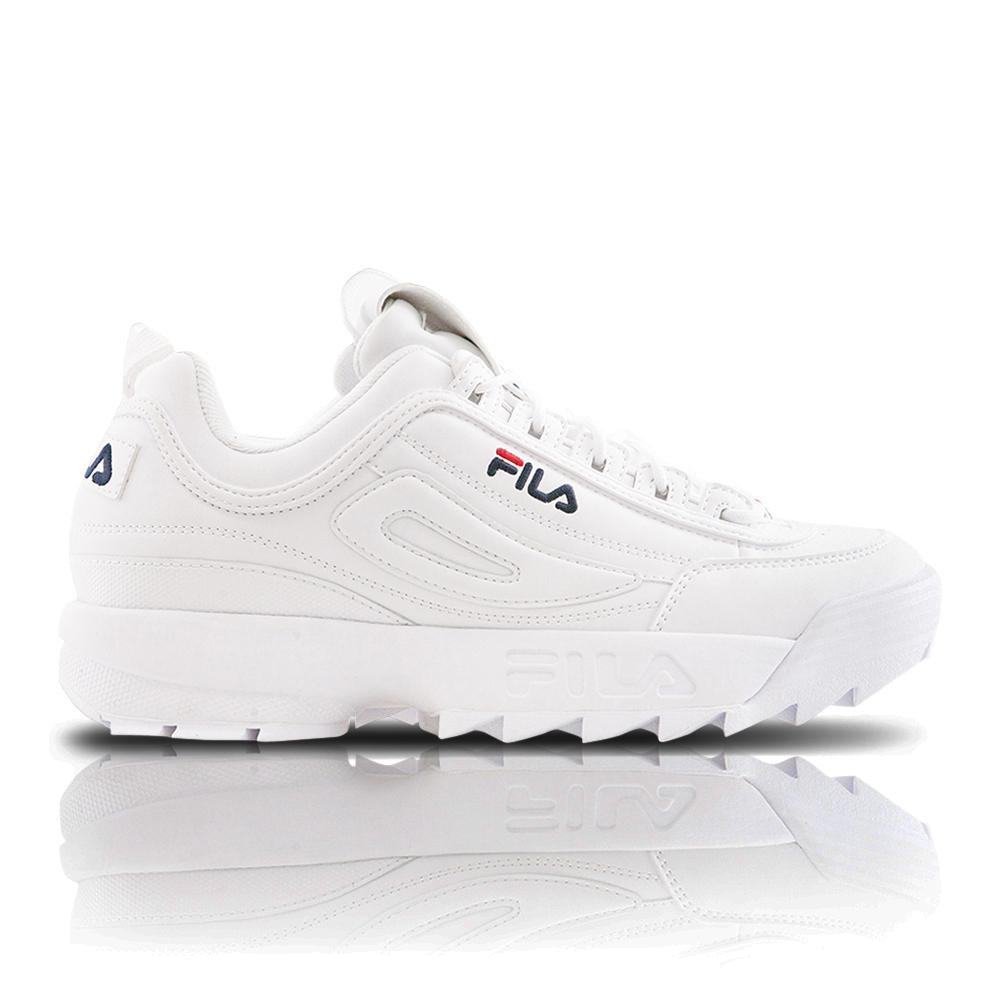 dfc463a972b3 Fila Women s Disruptor II White Sneaker