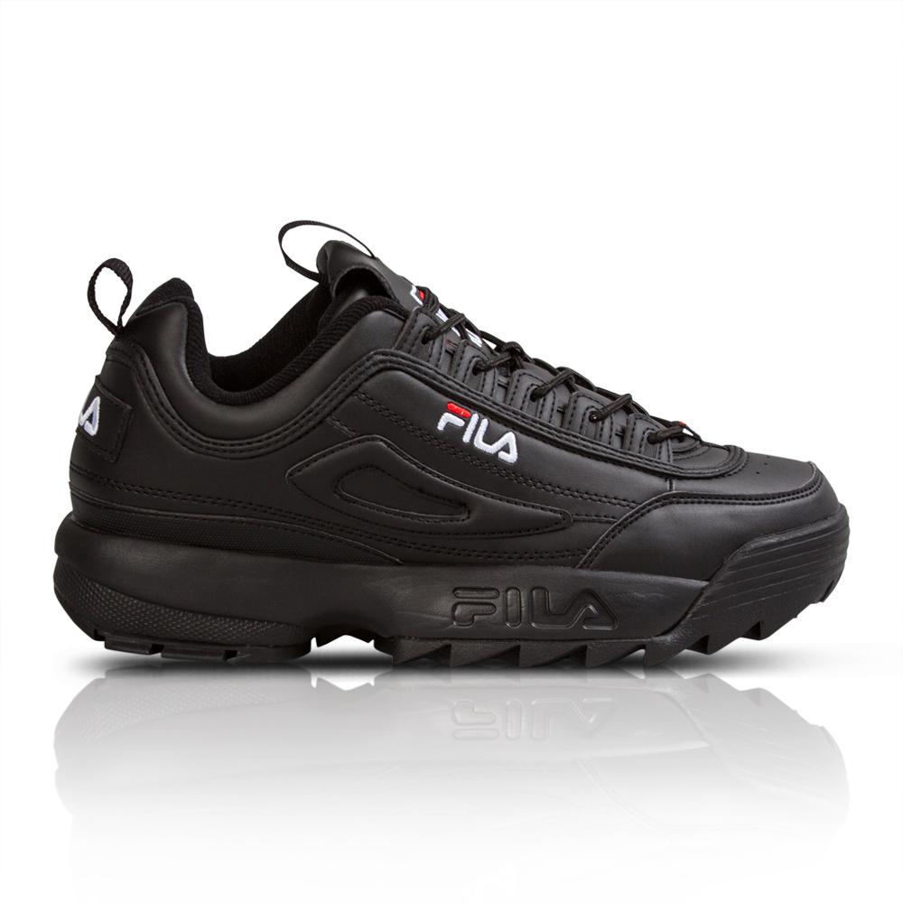 8d03ec24d1b7 Fila Women s Disruptor II Black Sneaker