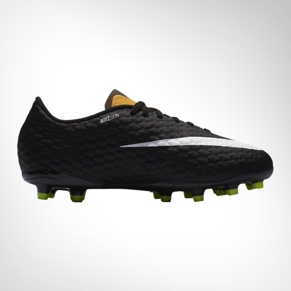big sale 273fc 3bbbd Junior Nike Hypervenom Phelon III FG Orange Black Boot. 135141AACA6