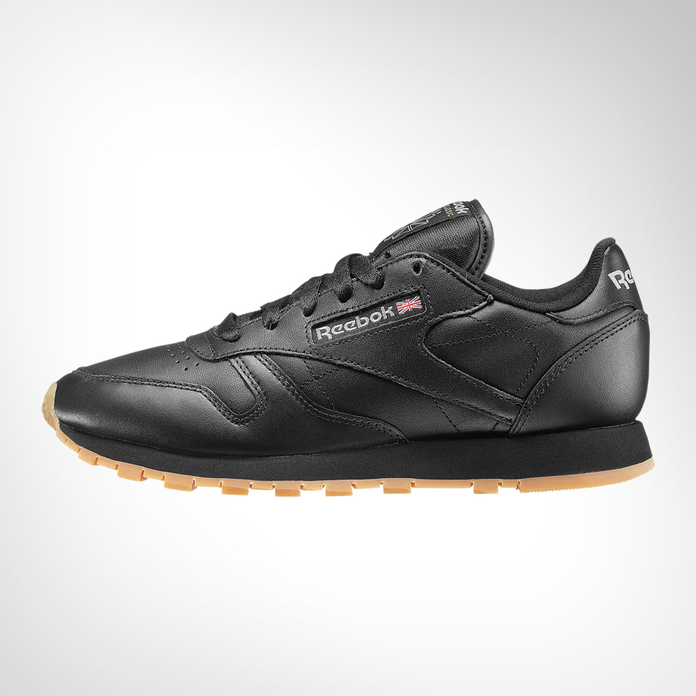 ireland mens reebok classic leather black shoe. 139244aafj3 96714 b5a6a fe66180af