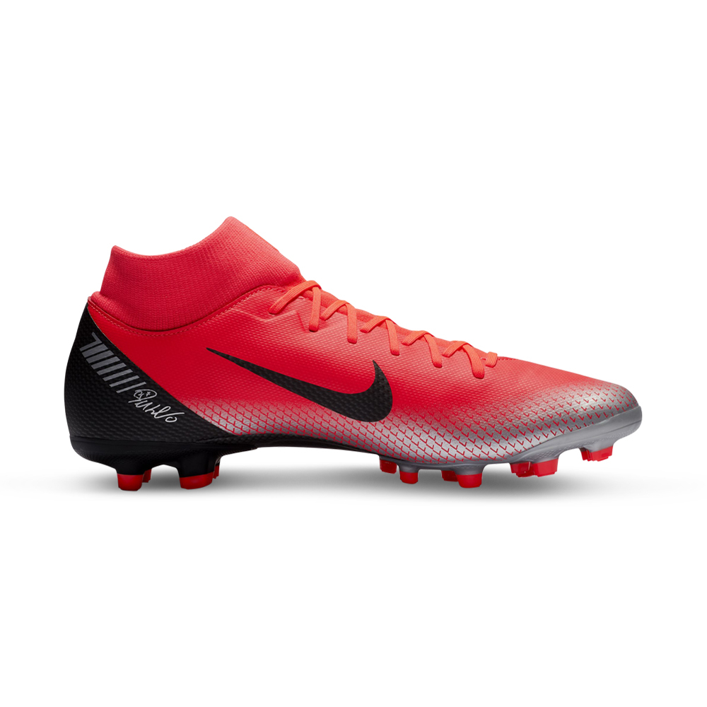 8bca5f2a990ed Men's Nike Superfly 6 Academy CR7 MG DF Red/Black Boot. 135140AAFZ7