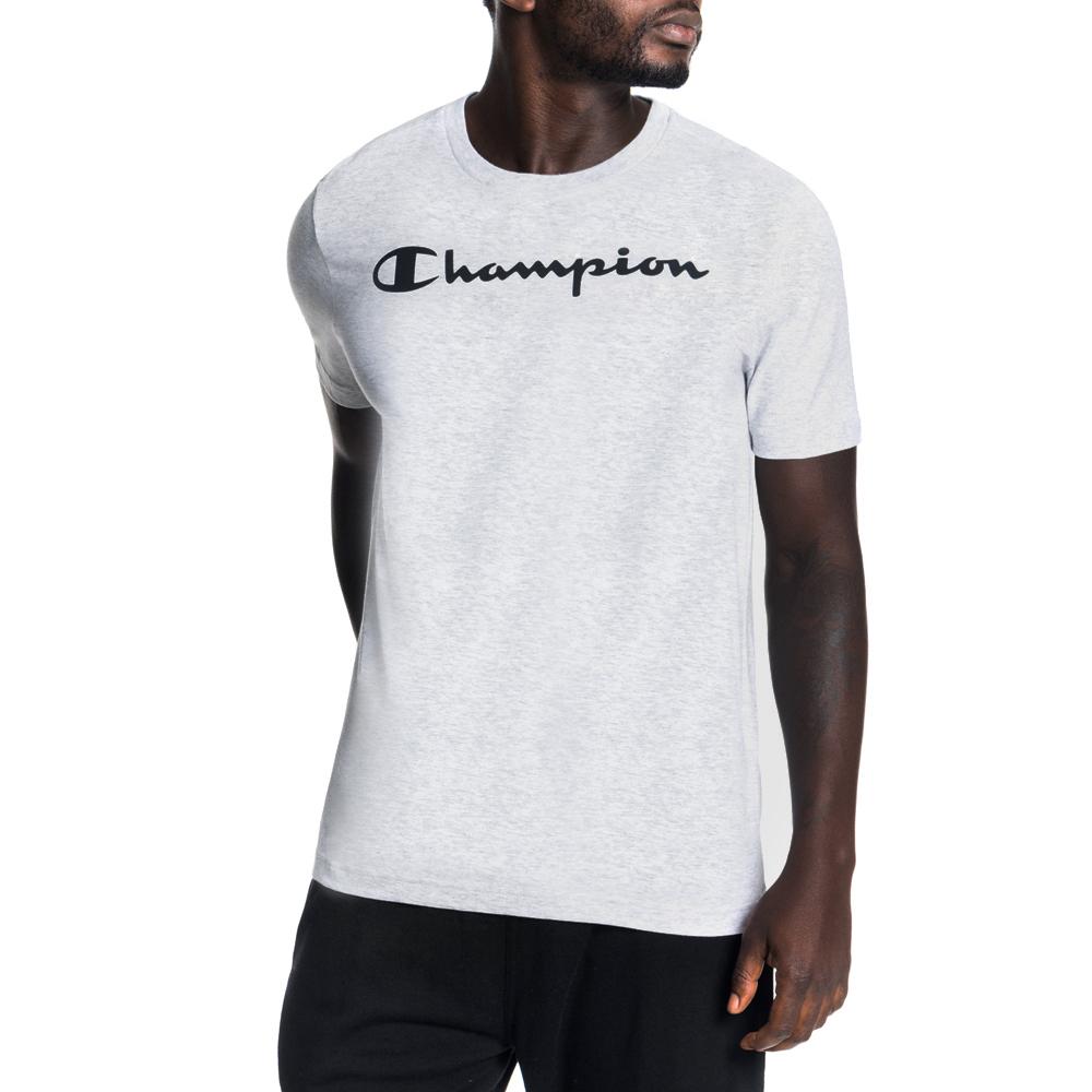 6374ae0f6027 Men's Champion Basics Cotton Grey Melange Tee. 139221AAND5