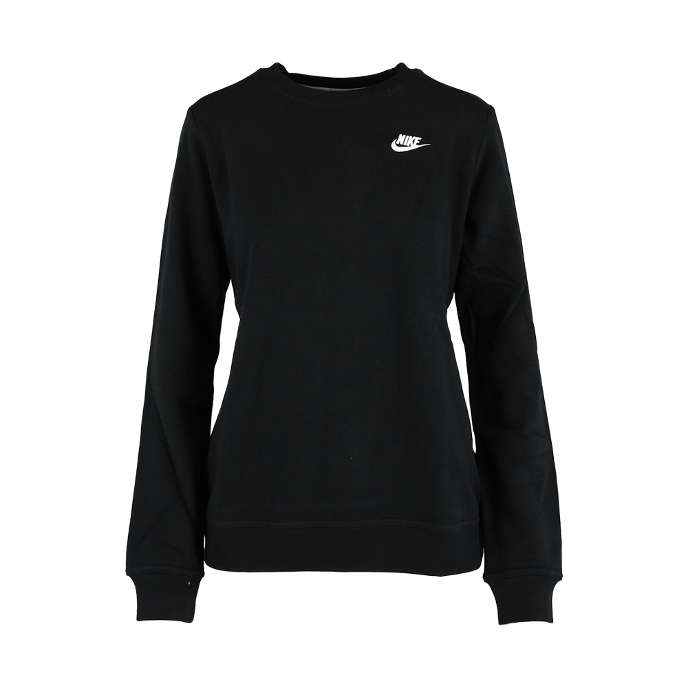 2263fb23f Women's Nike Sportswear Black Club Fleece Crew. 130608AABL7
