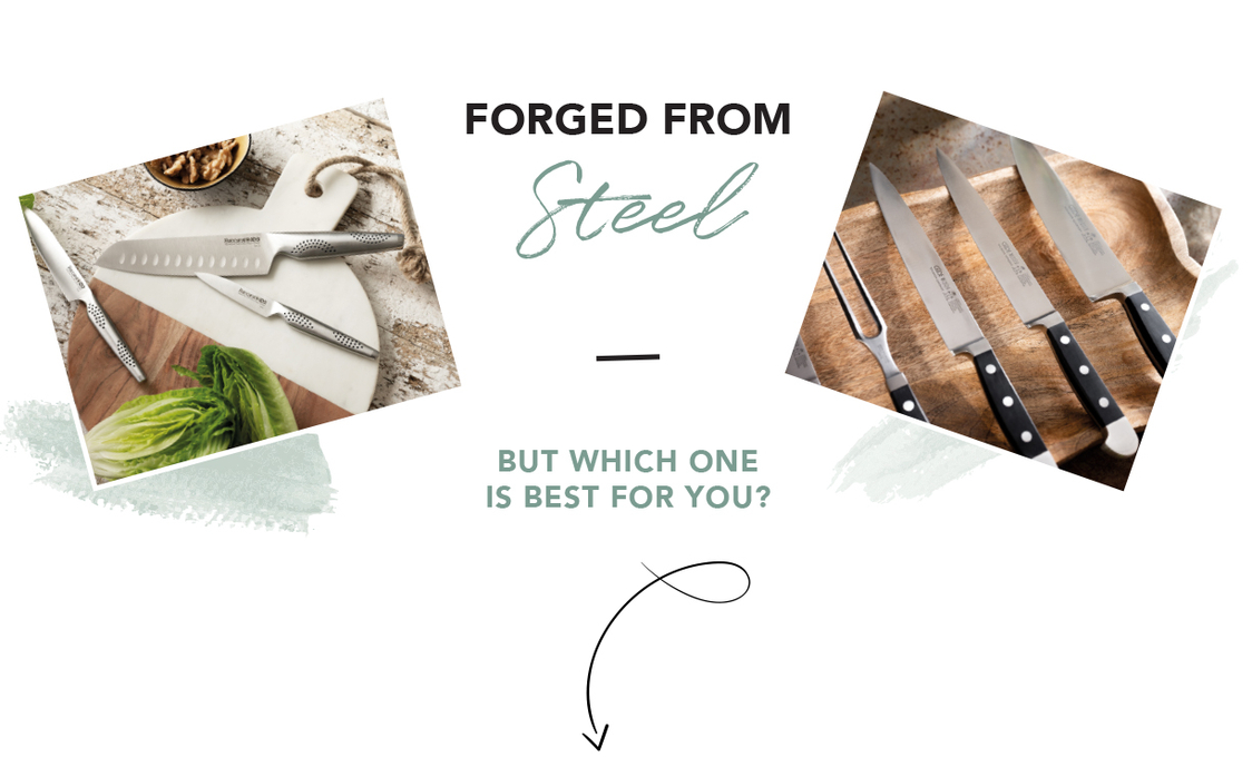 FORGED FROM Steel