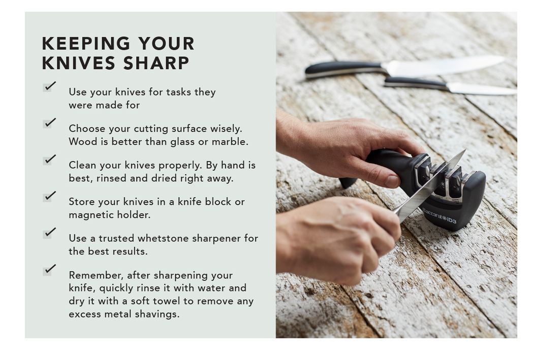 KEEPING YOUR KNIVES SHARP