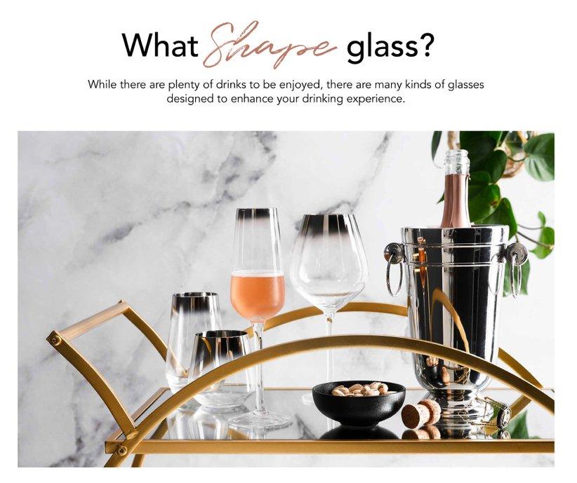 WhatShape glass?
