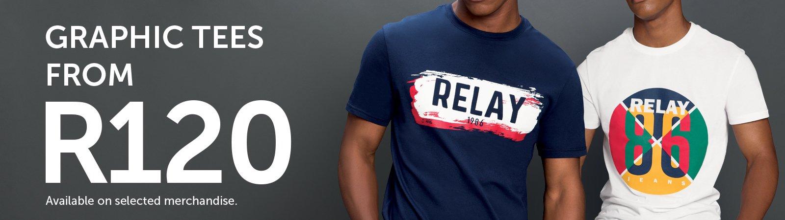 18c409d1f Mens T-Shirt | Relay Jeans