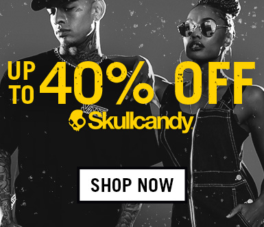 Up to 40% off on selected SKULLCANDY