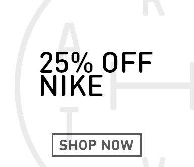 25% Off Nike Footwear