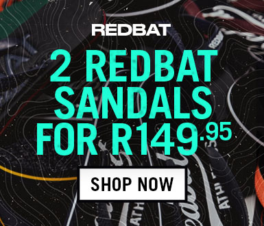 Buy 2 Pairs of Redbat Flip Flops for R149.95