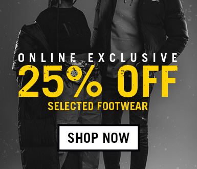 25% Off Selected Styles - Online Exclusive
