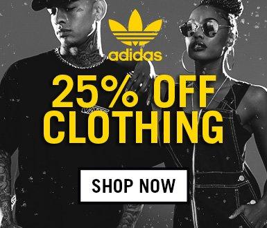 25% Off Selected Adidas Originals Clothing
