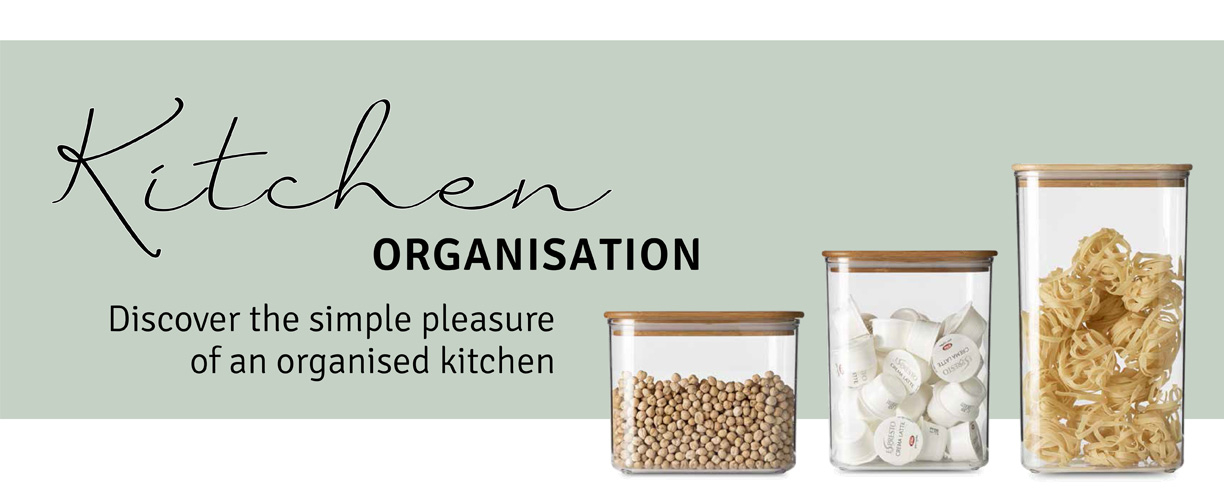 Discover the simple pleasure of an organized kitchen