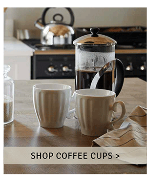 Shop coffee cups
