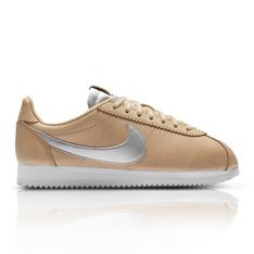 new product 57ce5 753c8 Nike Women s Cortez NBX Tan Silver Sneaker