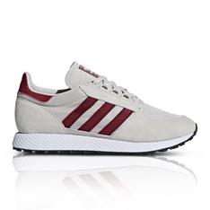 aa89f15ddb05e2 adidas Originals Men s Forest Grove Burgundy Sneaker