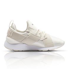 26e83ca2821d Puma Women s Muse Satin II Cream Sneaker