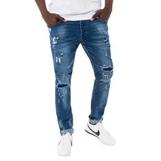 9167a952bb Redbat Men s Blue Medium Wash Slim Straight Leg Jeans