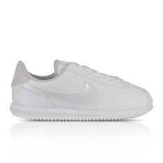reputable site d6416 d73bb Nike Junior Cortez Basic White Silver Sneaker