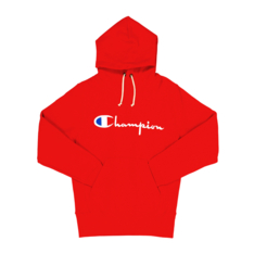 5336d7c14037 Show more · Champion Men's Chest Logo Red Hoody