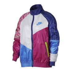 differently 904ee 063ea Show more · Nike Sportswear NSW Women s Blue Woven Track Jacket