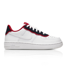 save off c35d8 626fd Show more · Nike Kids Force 1 LV8 1 DBL White Red Sneaker