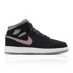 d1a788a5d8b2 Show more · Air Jordan Junior 1 Mid Black Grey Sneaker. R 1