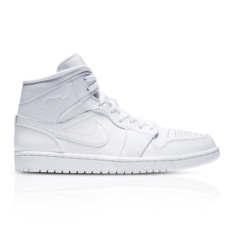 7875f7f4ffbc1b Show more · Air Jordan Men s 1 Mid White Sneaker