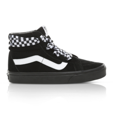 1abe23f6a5 Show more · Vans Women s Sk8-Hi Check Lace Black Sneaker