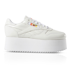 3aab6c9fec0 Show more · Reebok x Gigi Hadid Women s Classic Leather Triple Platform  Sneaker