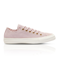 cfb52df40639 Show more · Converse Women s Chuck Taylor All Star Frilly Thrills Pink  Sneaker