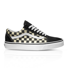8da705836b Show more · Vans Junior Checkerboard Old Skool Black White Sneaker