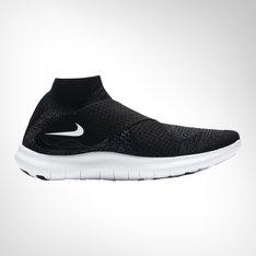 5249e526bdad Women s Nike Free RN Motion Flyknit 2 Black Grey Shoe