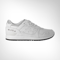 623e15be511d Men s Asics Gel-Lyte III White Leather Shoe