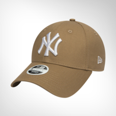 Women s New Era New York Yankees 9Forty Beige White Cap 057159b8356