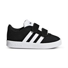 9aa20f1d02ee Infants  adidas VL Court 2.0 Black White Shoe