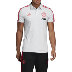 81eb45b9790 Show more · Men s adidas Manchester United Grey Red Polo Shirt