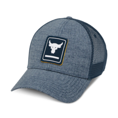 ea932a9fbe2 Show more · Under Armour Project Rock Navy Trucker Cap
