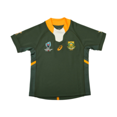 310e3876622 Show more · Youth Asics Springboks Rugby World Cup 2019 Home Jersey