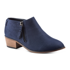 9aed7ba66b9de Duesouth Amara Ankle Boots with Zip Detail