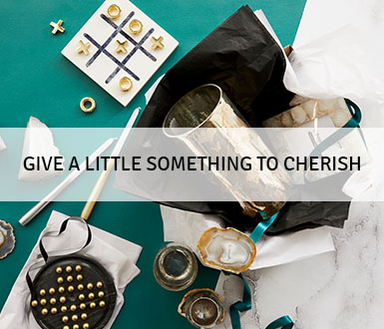 Give a little something to cherish